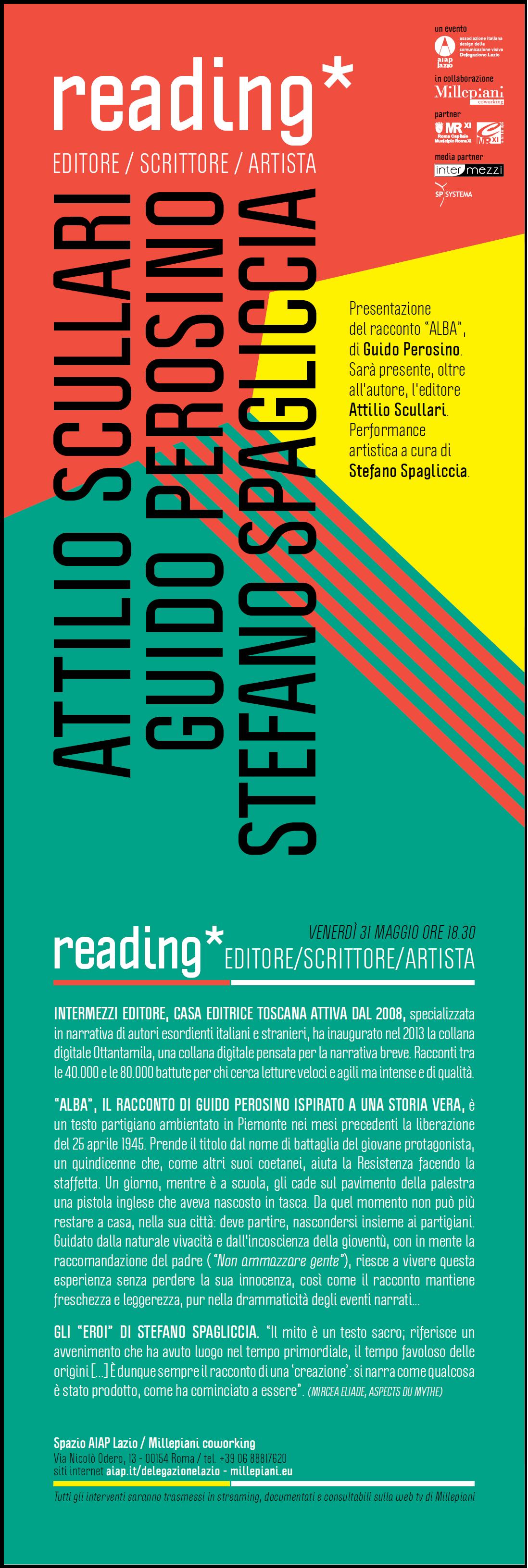Reading Alba a Roma